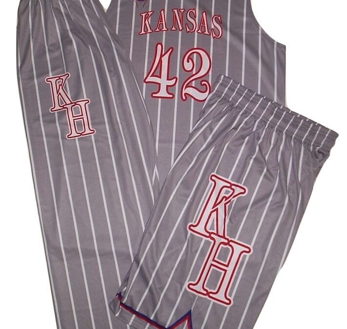 SINGLE SIDE STANDARD SUBLIMATED BASKETBALL UNIFORM